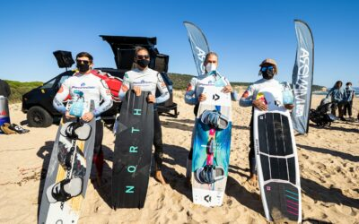 COPE   Podium del BIG AIR de la Spain Kiteboarding League