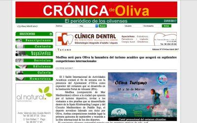 S.K.L. EN CRÓNICA DE OLIVA